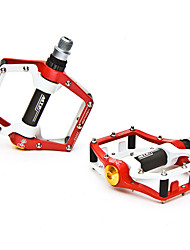 Mountainpeak Aviation Aluminum Red Bicycle Pedals