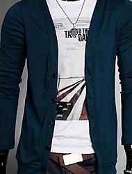 The New Cotton Casual camisola das Z & Q Men V-neck