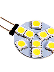 3W G4 LED à Double Broches 9 SMD 5050 130-180 lm Blanc Froid DC 12 V