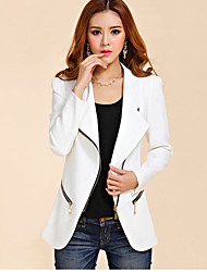 Women's Blazers & Sport Coats , Polyester Casual/Work Ruilifang