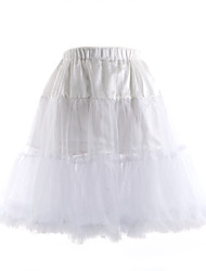 Three Tier Knee Length Petticoat(More Colors)