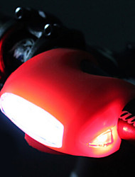 acacia® 7 luzes de bicicleta rã LED vermelho