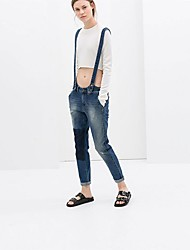 Women's Pants , Denim Casual Maipinku