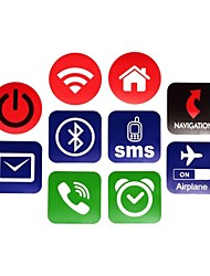 NXP ntag203 144 bytes 13,56 intelligenti tag NFC adesivi impostato per telefoni cellulari (10 pz)