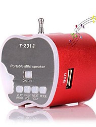 New Aluminum Apple style Mini Rechargeable USB Speaker(Assorted Colors)