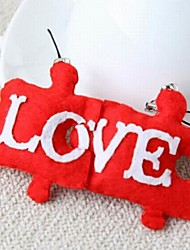 Moon DIY Fashion Lovely Love Pendant 2 PCS