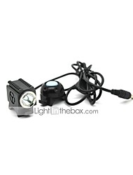 LT-FSC031 Mini 4 Modos 1xCree XM-L2 bici llevó la linterna (1000LM.2x18650/Battery Pack.Gray)