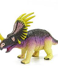 Montage styracosaurus Dinosauriermodell Gummibildungs Action-Figuren Spielzeug