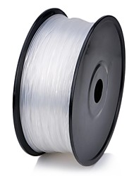 3D Printer Dedicated 3.00mm Filament ABS Print Materials (130m) - Transparent