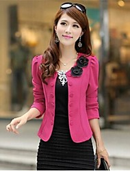 Women's Fashion Double-breasted Slim Lady Suit