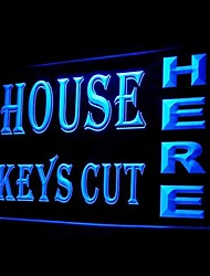 House Keys Cut Here Advertising LED Light Sign