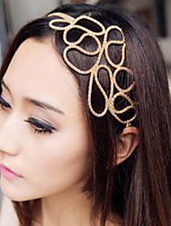 MIKI Cut Out Knitting Metal Hairband
