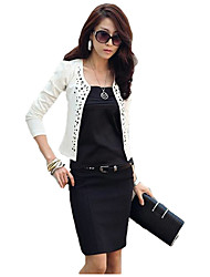 Mengsha Long Sleeve Fitted Blazer