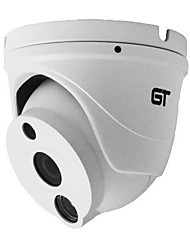 GT VIEW HD 1280*720P H.264 Dual Stream 3.6MM Day/Night Waterproof Dome IP Camera