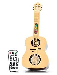 YuanBoTong Multifuncional 3,5 milímetros de áudio U Disk TFcard e alto-falante Guitarra FM com controle remoto IR