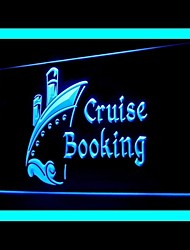 Cruise Booking Advertising LED Light Sign