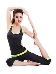 Dancewear Damen chinlon und Spandex Yoga-Tanz-Outfit (weitere Farben)