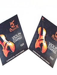 2Pcs  Deutsche Violin String S122 Set Fit For 1/8-4/4 Violin