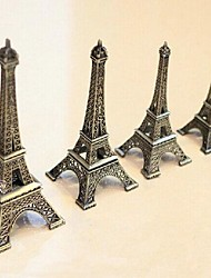 "9.8"" H Zinc Alloy The Eiffel Tower Furnishing Articles"