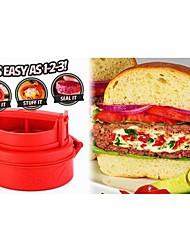 Gift Groomsman Stufz Stuffed Burger Press Maker Grill Patties Kitchen Tools Grill Plate