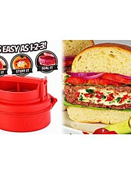 regalo stufz padrino hamburguesa rellena placa herramientas hamburguesas parrilla de prensa fabricante de cocina parrilla
