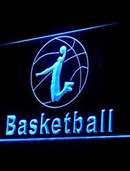 regolamento di basket pubblicità ha condotto il segno della luce