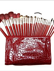 Lana Red Alto grado 26pcs chino del maquillaje sistemas de cepillo