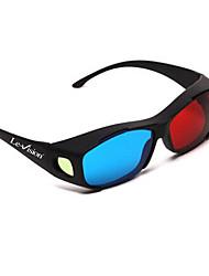le-Vision allgemeinen Kurzsichtigkeit rot blau 3D-Brille für Computer-tv mobil