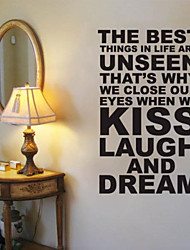 JiuBai™  The Best Thing Quote Wall Sticker Wall Decal, 60cm*98cm