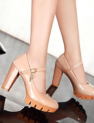 Women's Chunky Heel Round Toe Pumps Shoes (More Colors)