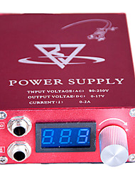 LCD Blue screen Red Tattoo Power Supply