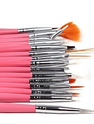 voga cuidado manicure pessoal&pedicure unha puxar caneta (15pcs, cor aleatória)