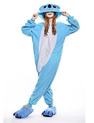 Nouveau Cosplay Bleu Koala Polaire adulte Kigurumi pyjama