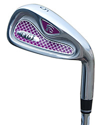 TTYGJ Golf Club Frauen 37 Zoll 5 # R-Zink-Legierung Kopf-Stahlwelle Mashie