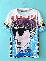 Yinbo Sonnenbrillen Männer Muster-T-Shirt Screen Color