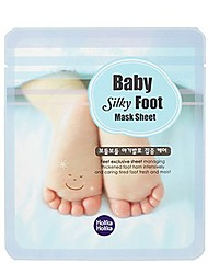 [Holika Holika] Baby Silky Foot Mask Sheet - 2 Set