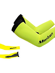 MONTON 2014 New Fluorescent Yellow MTB Cycling Arm Sleeve Oversleeves