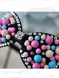 Girl's Korean Fashion Style Acrylic Beads Headband(random color)