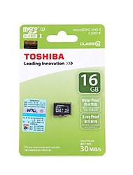 toshiba UHS-1 16gb Class10 microSDHC memory card tf 30MB / s impermeabile