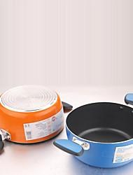 5.7 qt panela de sopa de aço inoxidável, w22cm x h14.2cm