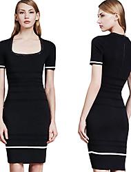Women's Dresses , Cotton/Lace Bodycon/Beach/Casual/Lace/Party MOL