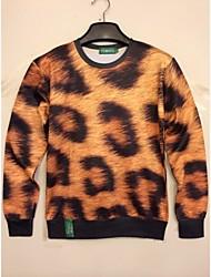 Herrenmode 3D Print Long Sleeve Sweater Freizeit