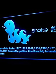 Zodíaco chinês Serpente Publicidade LED Sign