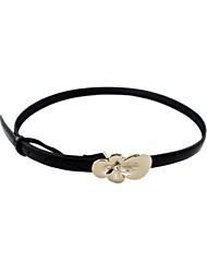 Women Skinny Belt/Waist Belt , Cute/Party/Work/Casual Leather