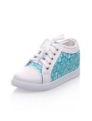 Donna tacco piatto Comfort Fashion Sneakers Shoes (più colori)