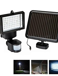 60-LED PIR solare ultra luminosa del sensore di movimento Security Light & Alluvione luce