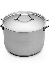 BODEUX® No Coating Series High Soup Pot 24cm 304 Stainless Steel Dia 24cm*17.5cm