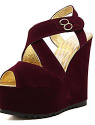 IPIEN Strip Winding Slipsole Sandal (Wine)