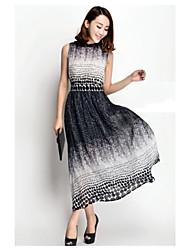 Women's  New Summer Bohemia Styles  Long Chiffon Dress
