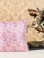 AOMAO ® 16 'Brocade Silk Almofada colcha e travesseiro de seda